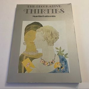 The Decorative Thirties by Martin Battersby 1971 trade paperback format